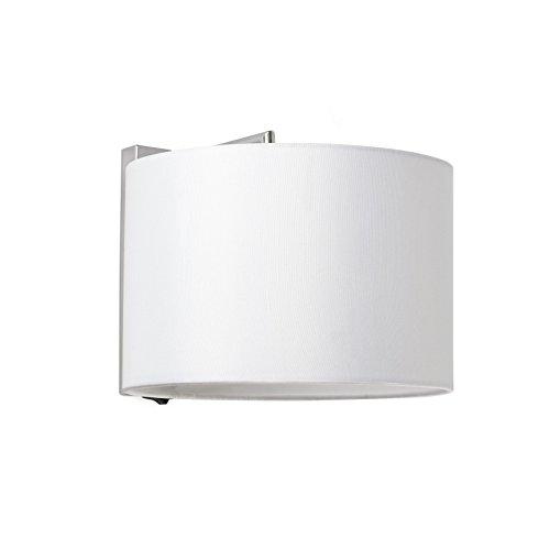 Faro Barcelona 62706 - SAHARA Lampe applique chrome/blanc