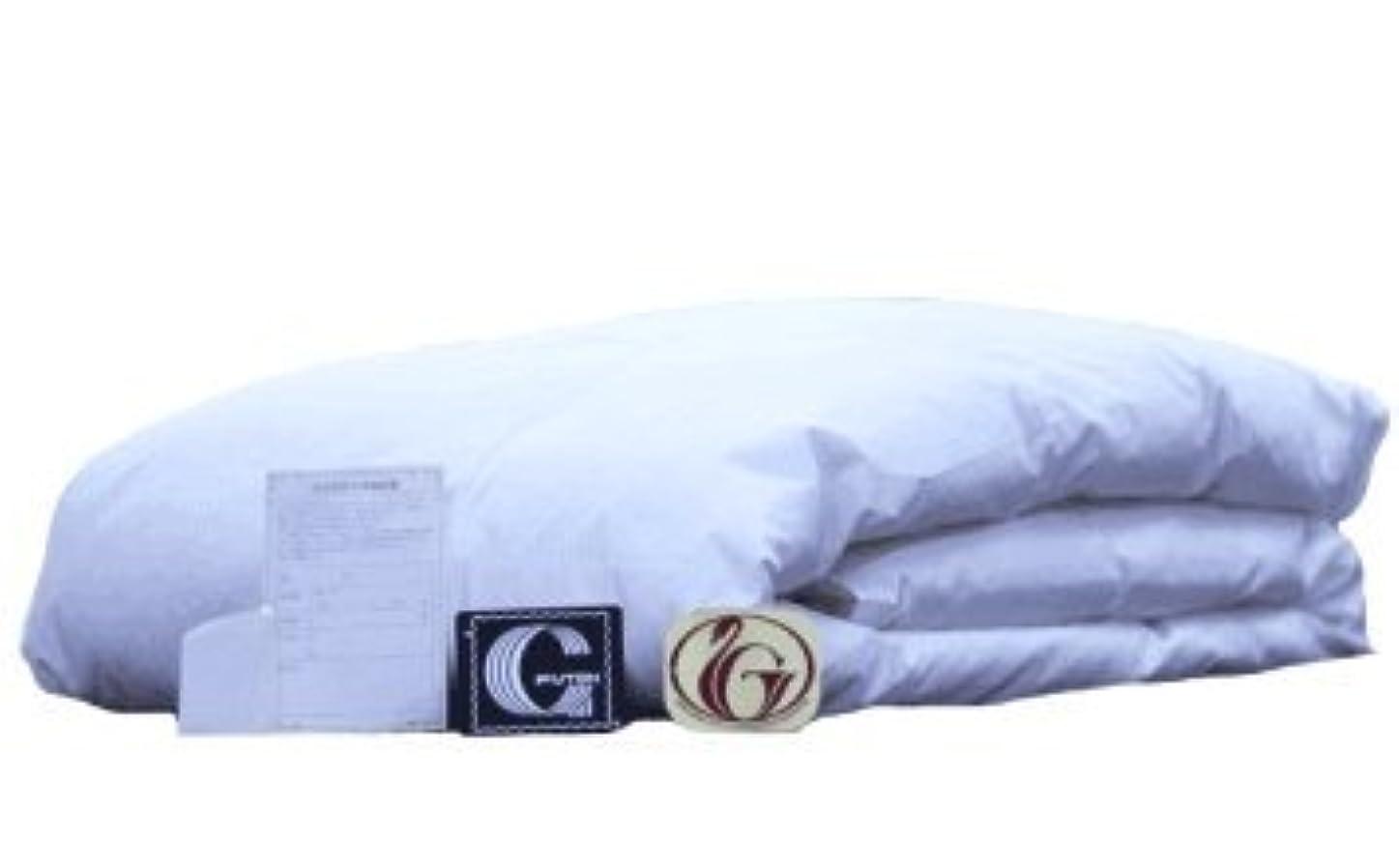 等々黒板感性ダウンケット 肌掛け ニューゴールドラベル ホワイトダックダウン85% 日本製 洗濯ネット付き (セミダブル)
