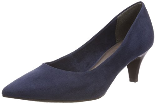 Tamaris Damen 22415 Pumps, Blau (Navy), 40 EU