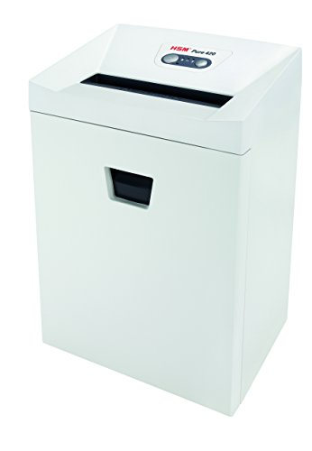 Best Review Of HSM Pure 420c Cross-Cut; shreds up to 16 sheets; 9.2-Gallon Capacity Continuous Opera...