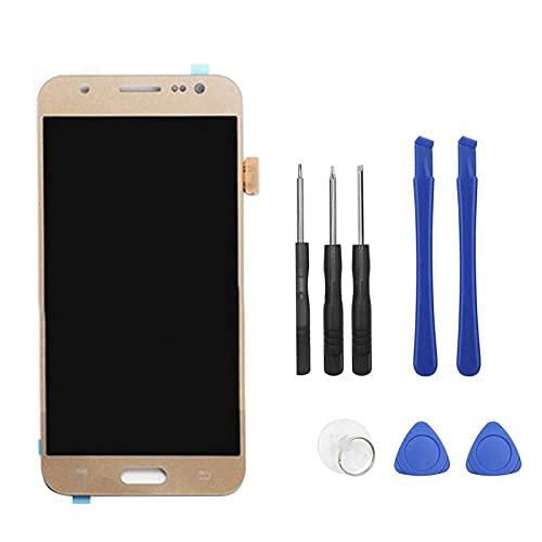 Accessory Kits - Herramienta de repuesto original para Samsung J5 SM-J500FN, reparación de teléfonos móviles con herramientas (color negro), color dorado