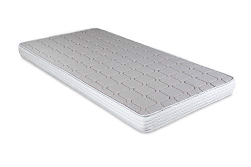 EVERGREENWEB - Colchón para sofá Cama, ortopédico, de Espuma, ergonómico, con Funda Blanca hipoalergénica – DAYBED (Colchon 15, 80 x 190 cm)