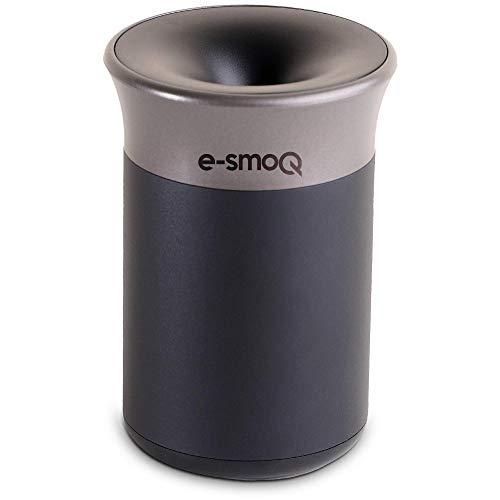 e-smoQ® Aschenbecher für IQOS 3 Duo, 2.4 und Multi | Becher für Heets Sticks | Perfektes Zubehör für Auto, Büro, Zuhause und Draussen, mit Deckel