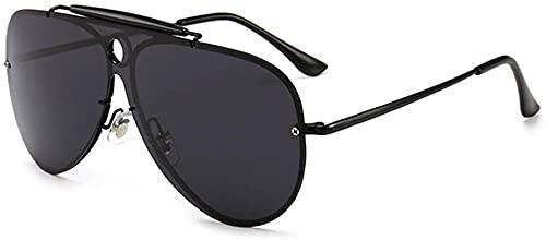 Dpprdl Espejo polarizador Gafas de Sol Personalidad Macho y Hembra Coloridas Gafas de Sol