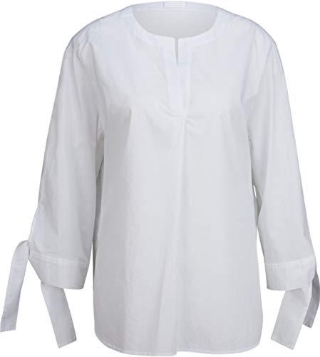 Drykorn Damen Tunika-Bluse aus Baumwolle in Weiß 3 / M