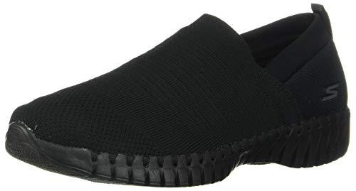 Skechers Women's GO Walk Smart-Wise Sneaker, Black, 12 Medium US