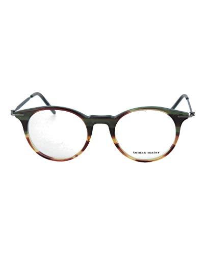 Eyeglasses Tomas Maier TM 0015 O- 005 BROWN / RUTHENIUM