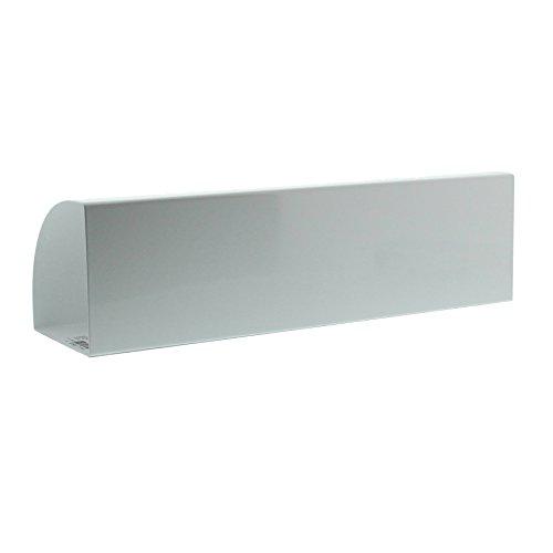 BURG-WÄCHTER, Zeitungsbox, Beidseitig verwendbar, Metall,Vario 820 W, Weiß - 3
