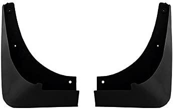 C6 Corvette Painted Rear Mud Flap Splash Guards - Gloss Black 41 41U GBA WA8555