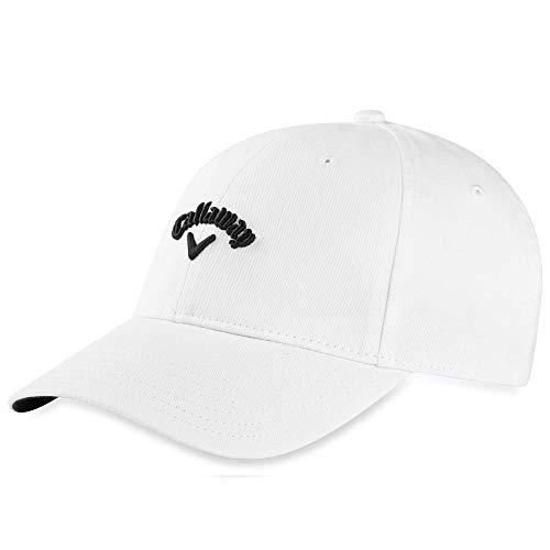 Callaway Golf 2020 Heritage Twill Adjustable Hat White