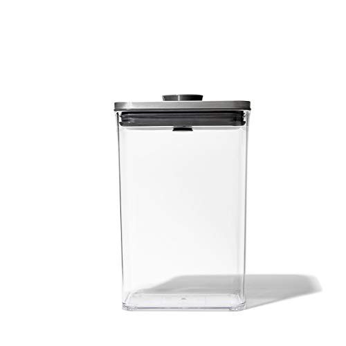 OXO Steel POP Container - 2.7 Qt for rice, pasta and more