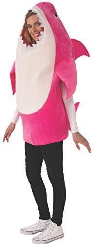 Rubies - Disfraz para Adultos tiburón bebé y mamá con Chip de Sonido estándar (701704-STD)