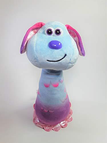 Shaun la pecora Aurora, 61241, Lu-La, 22,5 cm, peluche blu e viola