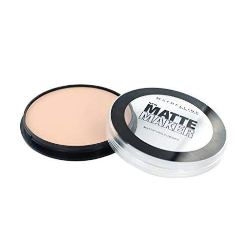 Maybelline New York - Cipria compatta Matte Maker, n° 35 Amber Beige, 1 pz. (1 x 16 g)