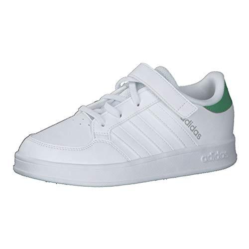 adidas Breaknet C - Scarpe da Tennis Unisex per Bambini Bianco Size: 28 EU
