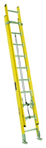 Louisville Ladder FE4224HD Extension Ladder, 24-Feet