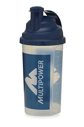 Multipower Shaker, Perfetto per Gustare le Tue Proteine, Incluso il Filtro per Rendere il Tuo Shake Proteico Delizioso e Cremoso, 700 ml