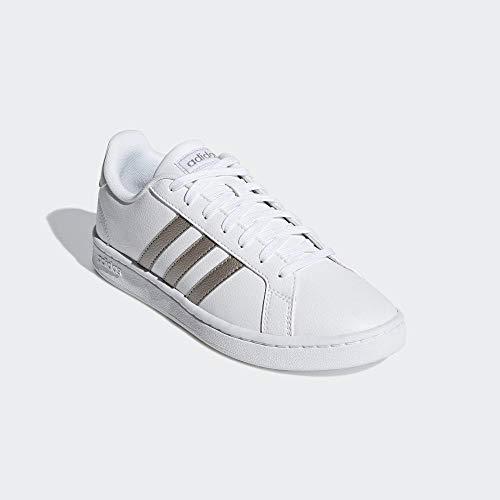 adidas Women's Fitness Shoes, Multicolour (FTW Bla/Metpla/FTW Bla 000), 5.5 UK