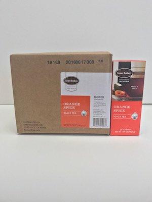 Farmer Brothers Premium: Orange Spice Hot Tea - 6/25 ct boxes