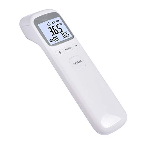 Forehead Thermometer for Fever, No-Touch, Infrared Adult Thermometer for Adults and Kids, Digital Infrared Thermometer, Kid and Baby Thermometer