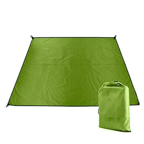 KJBGS Außenmatte Camping Zelt Matte Zelt tarp Sonnenschirm Regen schelter Strand Matte pad Picknick Nylon Camping wasserdicht Tragbare Campingmatte (Color : AS Shown)