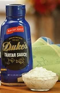 Duke's Tartar Sauce 11.5 Oz (Pack of 4)