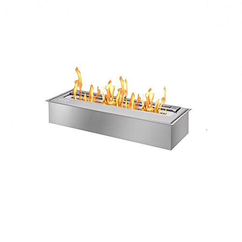 Best Review Of 24 Inch Ethanol Fireplace Burner Insert