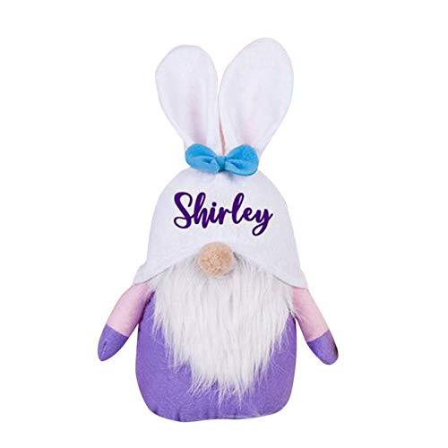 Easter Cartoon Bunny Shape Cute Faceless Doll Decoration Ornaments 1pc Home & Garden Home Decor