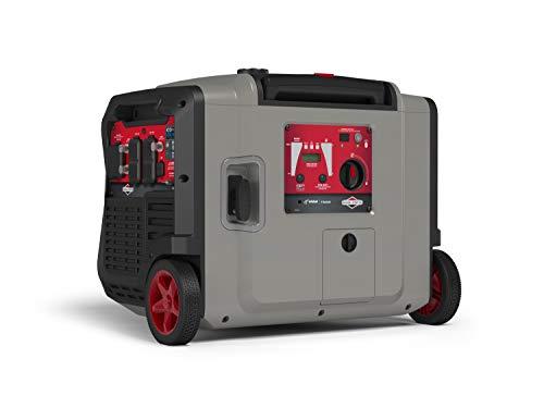 Briggs & Stratton P4500 Portable (030814) Generators, 4500-Watt, Gray/Red