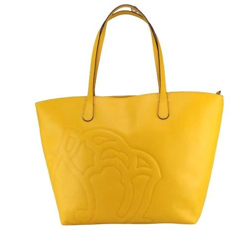 Borsa Braccialini shopping Ninfea col. giallo