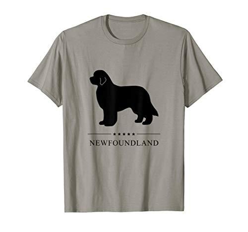 Newfoundland Shirt: Black Silhouette T-Shirt