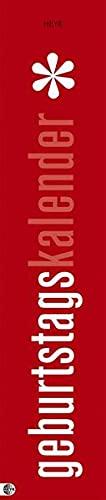 Preisvergleich Produktbild Geburtstagskalender neutral mini long 7x33cm jahresunabhängig