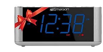 Emerson SmartSet Alarm Clock Radio CKS1708  Renewed