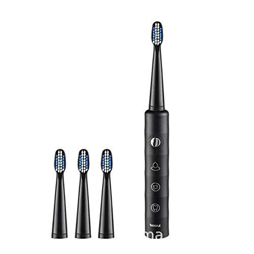 N-B Primus - Cepillo de dientes eléctrico sónico (6 velocidades, carga USB, 7 niveles, resistente al agua)