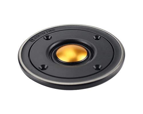 WNJ-TOOL, 2 stücke HiFi 3 Zoll Hochtöner Lautsprecher 6Ohm 60w 82mm Höhenlautsprecher für BX2 Ersatz Home Audio DIY Dome Gold Film Hohe Qualität