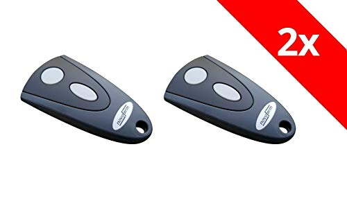 2 x Novoferm Tormatic Novotron Handsender 502 2-Befehl 433 Mhz Keeloq Funksender Fernbedienung Garagentoröffner