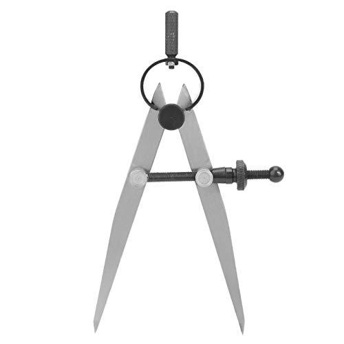 SALUTUYA Creaser Edge Edge Creaser Divisor de alas Herramienta de artesanía giratoria brújulas de Cuero Herramienta de Bricolaje Ajustable para Dibujo de brújula para Trabajos de artesanía en