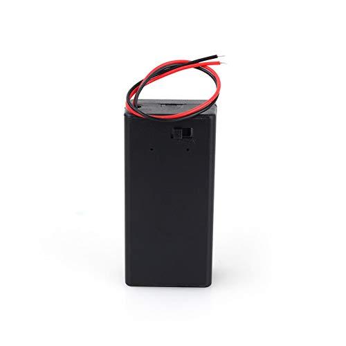 Caja de almacenamiento de batería, estuche de soporte de batería resistente a la deformación para soporte de batería corroído para pequeños proyectos de hobby