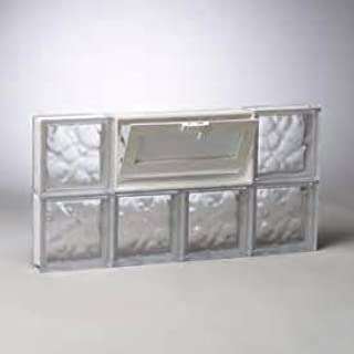 Imperial Glass Block Co. Glass Block Windows (32''x 16'')