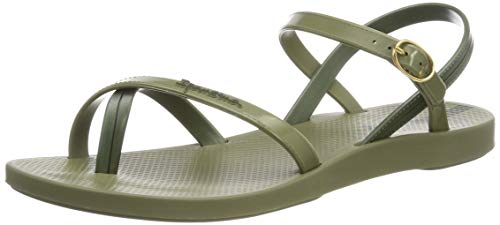 Ipanema Mädchen Fashion Sand VII FEM Slingback Sandalen, Grün (Green/Green 8550), 35/36 EU