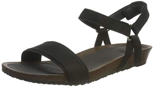 Teva Damen Mahonia Stitch Womens Sandale, schwarz, 39 EU