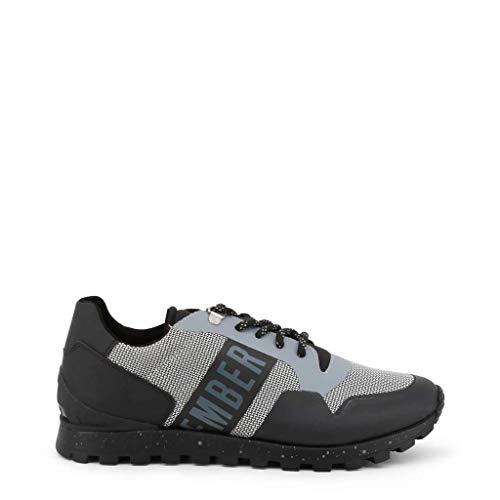 Bikkembergs Scarpe Basse Sneakers Uomo Nero (Fend-ER_2217)