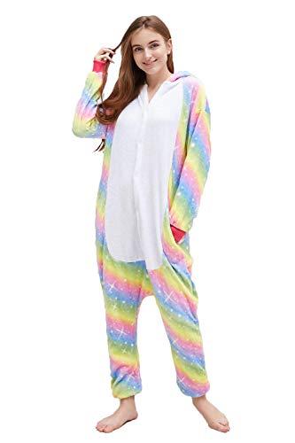 Women Onesies Pajamas Christmas Cosplay Unicorn One Piece Costumes Sleepwear for Women and Teenage Girl