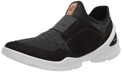 Ecco Damen BIOMSTREETW Slip On Sneaker, Schwarz (Black/Black 51707), 38 EU