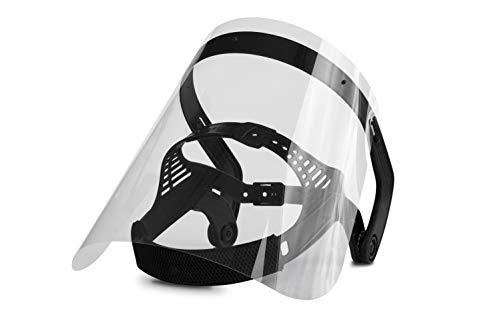 1x HAIMER Face Shield Schutzmaske Model 2 (0,75 mm starkes Visier)