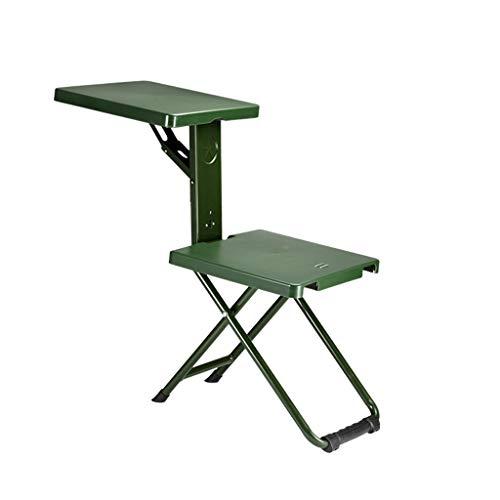 WMQ Silla Plegable Silla Plegable portátil al Aire Libre Taburete Soldado Silla Plegable, Silla Plegable de Viaje al Aire Libre, Camping