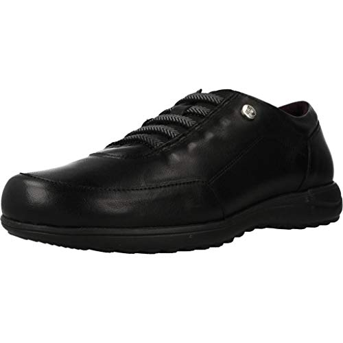 Pitillos Zapatos Cordones Mujer 2110P para Mujer Negro 40 EU