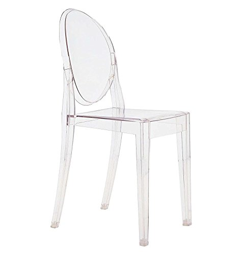 Kartell Victoria Ghost 4857 - Farbe: Transparentes Polycarbonat Kristall (B4/Cristallo)