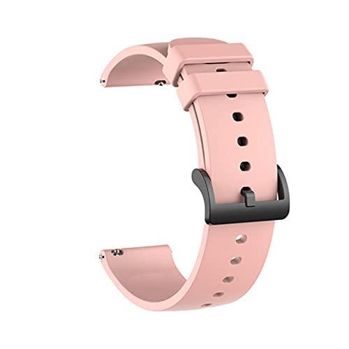 Correa de reloj de 20 mm para Amazfit Bip S Correa pulsera de silicona para Xiaomi Huami Amazfit GTS / Bip Lite / Bip 1S / Bip 2 / GTR 42mm