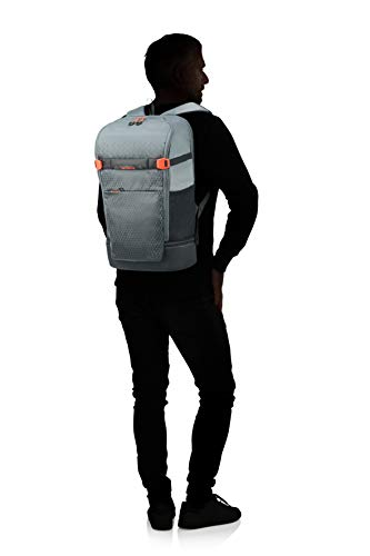 Samsonite Hexa-Packs - Laptop Backpack Large - Travel Rucksack, 50 cm, 22 Liter, Grey Print